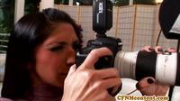 Cfnm Rebecca Linares Receives A Facial