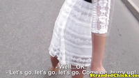 Hitchhiking Miranda Kerr Look Alike Being Throatfucked2