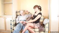 Girl In Stockings Sucks Dick Guy3