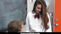 Innocenthigh Horny Schoolgirl Elektra Rose Learns A Lesson
