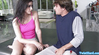 Doggystyle Pounded Addie Juniper Facialized