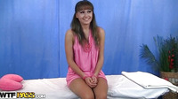 Angelic Girl Gets Tushy Massage