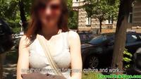 Real Euro Girlnextdoor Facialized In Public