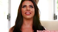 Blowjob Babe Deepthroating Dick Before Facial