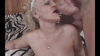 Blonde Sex With A Guy Licks Sperm