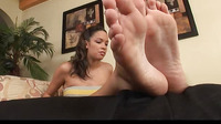 Naudia Marie Loves Her Toes Sucked And Pussy Fucked
