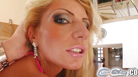 Gia Is A Cute Blonde With A Super Slim Athletic Body That Just Loves Tofeel The Attention Of As Many Cocks Around Her As Possible