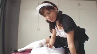 Horny Japanese Maid Give The Best Blowjob Ever Uncensored