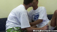 Barebacked Sex Gaymen With Cumshots