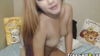 Hot Korean Babe Shows Talent On Sucking Cock